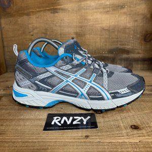 Asics Gel Enduro 6 Silver Blue Athletic Sneakers